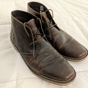 Steve Madden leather Chukka Boots